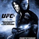 UFC 170 Rousey vs. McMann Mixed Martial Arts Championship Original Poster 2' x 3' Rare 2014 Mint