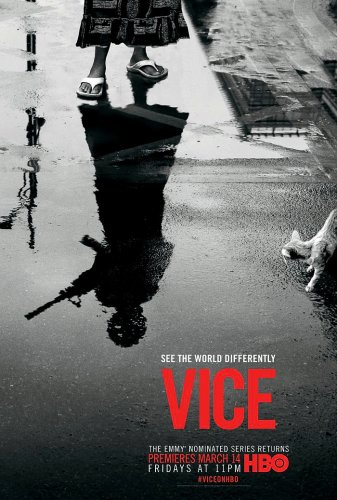 "VICE Original Poster * Shane Smith * HBO 27""'x 40"" Rare 2014 Mint"