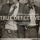 "TRUE DETECTIVE Orig Poster * Matthew McConaughey & Woody Harrelson * HBO 27""'x 40"" Rare 2014 Mint"