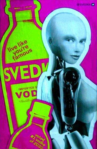 Svedka Vodka * LIVE LIKE .. * Original AD Poster 2' x 3' Rare 2012 Mint