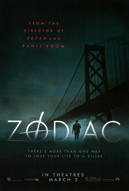 Fincher's ZODIAC Movie Poster * JAKE GYLLENHAAL * 4' x 6' Rare Version 2007 NEW