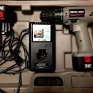 "Porter Cable Pro 9.6v 3/8""inch Cordless Drill Driver + 2 Batts + Charger + Case"