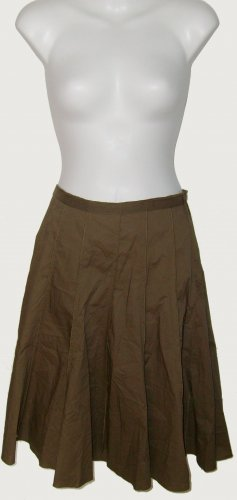 Size 6p Cactus Green Charter Club Skirt With Tags