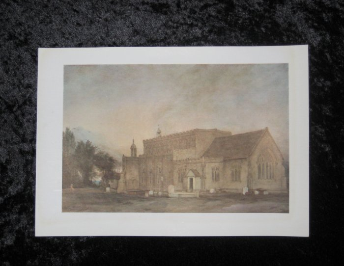 Constable, limited vintage print, actually printed in 1940