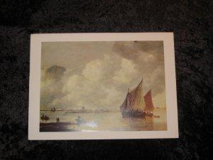 """Van Goyen, new nautical print, 12"""""""