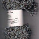 Blue Brown Vari Acrylic/Poly Yarn 200yds Fun to Use
