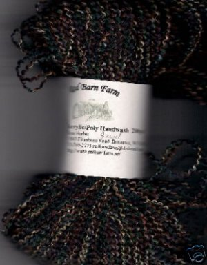 Jewel Tones Vari Acrylic/Poly Yarn 200yds Fun to Use