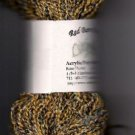 Gold w/bits of Wild Color Vari Acrylic/Poly Yarn 200yds