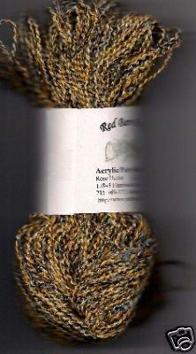 Gold w/bits of Wild Color Vari Acrylic/Poly Yarn 200yds