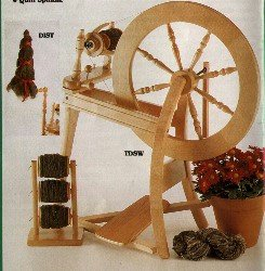 Ashford DD Traditional Spinning Wheel Perfect for Beginner and Free Wool