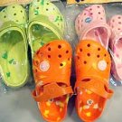 """kona"" kids clogs tye dye design wholesle lot of 12 size 8-13"