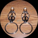"BIG BULLIES 2"" RINGED CLOVER CLAMPS"