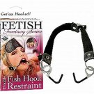 DOUBLE FISH HOOK RESTRAINT & BLIND FOLD