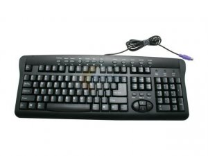 SpecResearch Smart-2B Black PS/2 Standard Keyboard Mouse Included