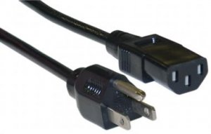 Standard PC/Monitor Power Cord