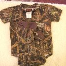 Boy's Camoflage Infants Onesie Gift Set 3-6 Months NWT