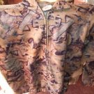 Camoflage Fleece Jacket 1/4 Zip NEW by True Timber, L