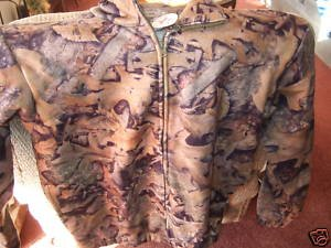 Camoflage Fleece Jacket 1/4 Zip NEW by True Timber, L