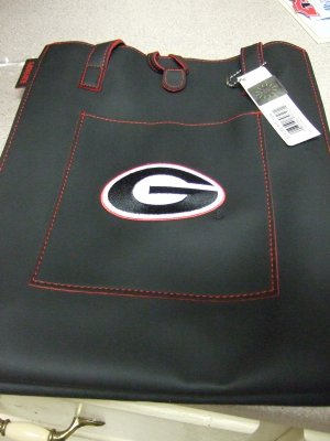 "Georgia Bulldogs Bag 12 1/2"" x 10"" NEW by Alan Stuart"