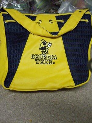 """Georgia Tech Bag 12"""" x 13 1/2"""" NEW by Alan Stuart"""