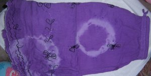 Purple Women's Skirt Large