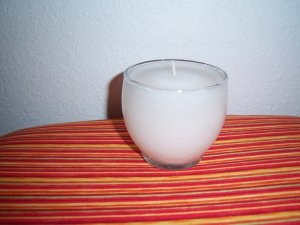 Candle with Wick-Clean Cotton