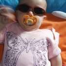 Baby Onesie Girl Butterfly 24 months
