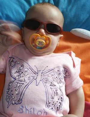 Baby Onesie Girl Butterfly 24 months