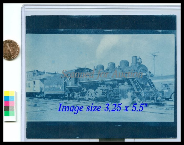 Photograph of Livonia Avon & Lakeville Locomotive #17