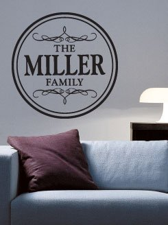 Custom Family Vinyl Wall Lettering Words Art Rub On Letters