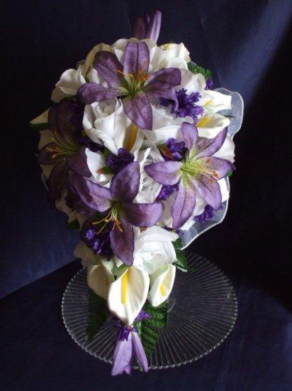 10 PC. WEDDING BOUQUET,FLOWER SET,YOUR COLORS!!!
