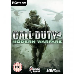 Call of Duy 4 Modern Warfare PC Game - Brand New & Factory Sealed