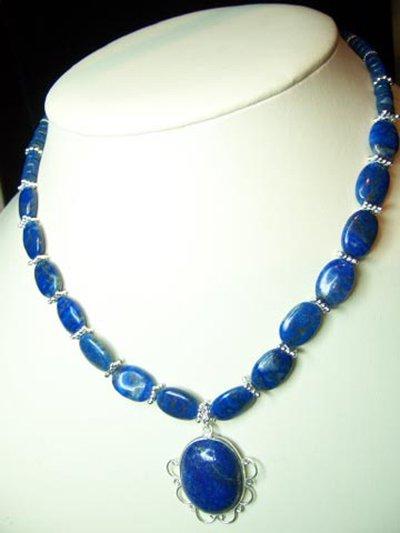 Lapis Lazuli and .925 Silver