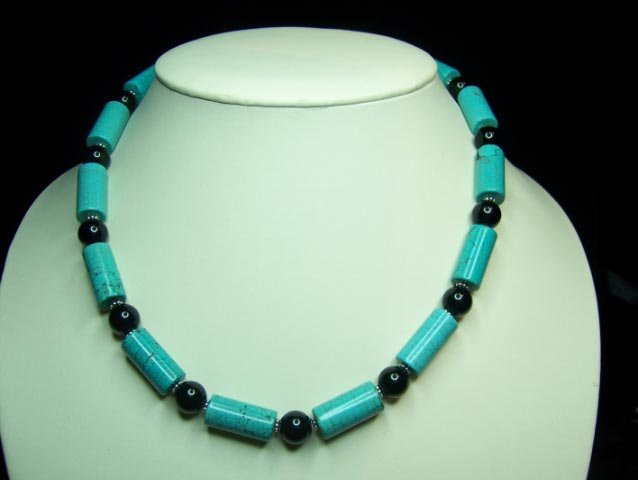 Turquoise, Onyx & Silver