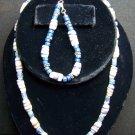 Lapis Lazuli w/ Tribal Beads