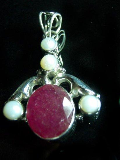 Thai Ruby & Pearls