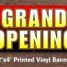Grand Opening Banner 2x4 ft