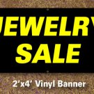 Jewelry Sale Banner 2x4 ft