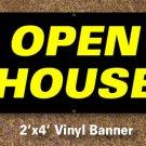 Open House Banner 2x4 ft