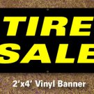 Tire Sale Banner 2x4 ft