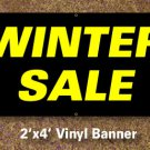 Winter Sale Banner 2x4 ft