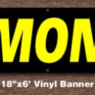 Almonds Banner 18 inch x 6 ft