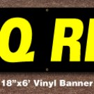 BBQ RIBS Banner 18 inch x 6 ft