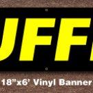 Buffet Banner 18 inch x 6 ft