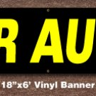 Car Audio Banner 18 inch x 6 ft