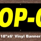 Drop Off Banner18 inch x 6 ft