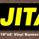 Fajitas Banner 18 inch x 6 ft