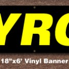 Gyros Banner 18 inch x 6 ft