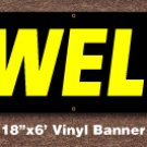 Jewelry Banner 18 inch x 6 ft