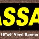 Massage Banner 18 inch x 6 ft